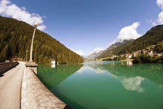 Auronzo Lake, Dolomites