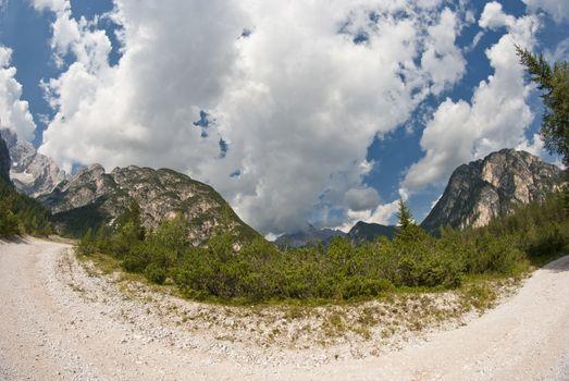 Dolomites Countryside, Italy