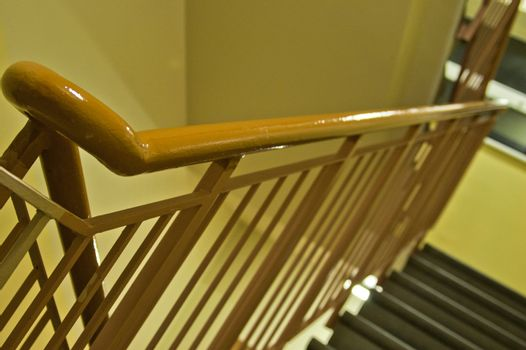 Foto of ladder whitch to next floor