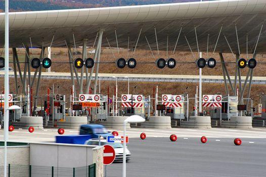 toll of motorway