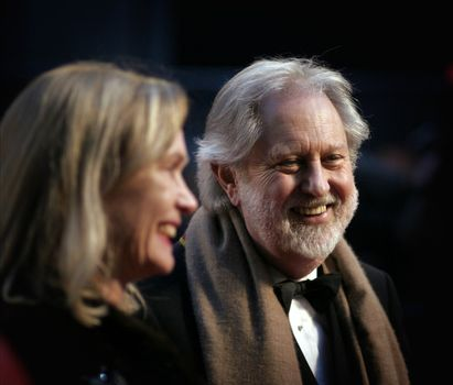 Lord David Puttnam arrives at the Orange British Academy Film Awards (BAFTAs) at the Royal Opera House on February 11, 2007 in London, England.