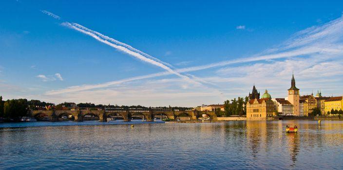 Prague and the Vltava