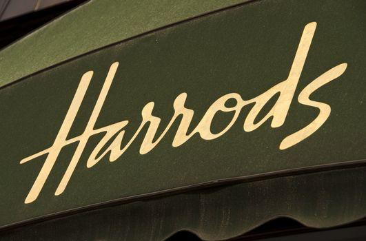 Harrods awning