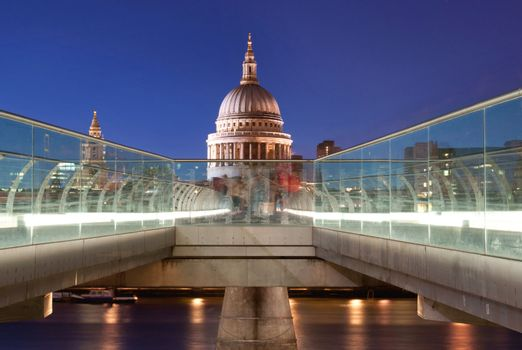 St Pauls and River Thames