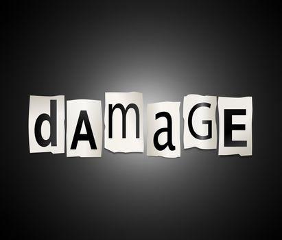 Damage concept.
