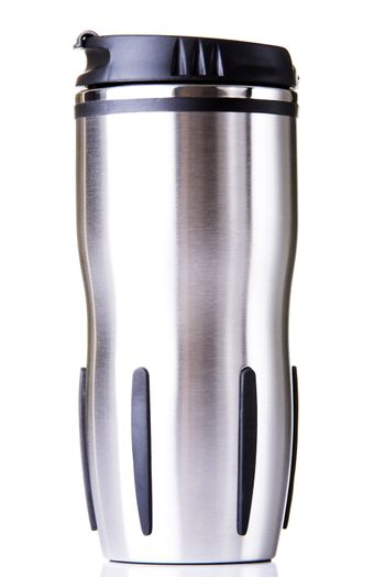 Thermos travel tumbler, cup.