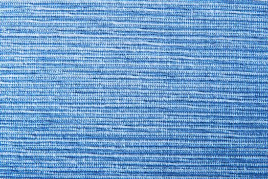 Blue textile texture background
