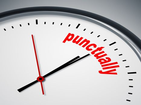 punctually