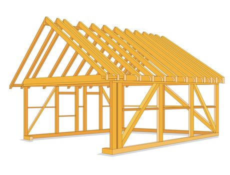 timber houses construction