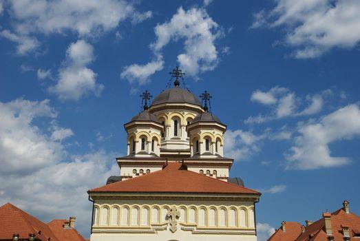 Orthodox church of Alba Iulia, Transylvania,Romania