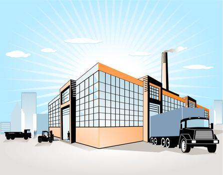 Factory + Transport