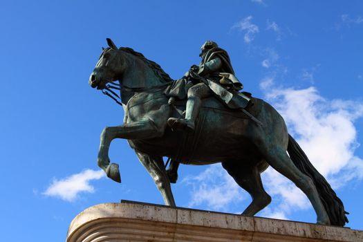 Equestrian statue of Carlos III, Puerta del Sol, Madrid, Spain