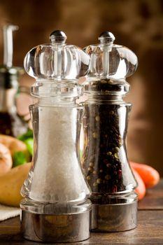 Salt and Pepper Mill