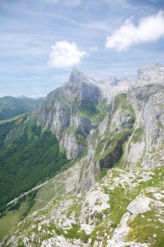 peak in Cantabria