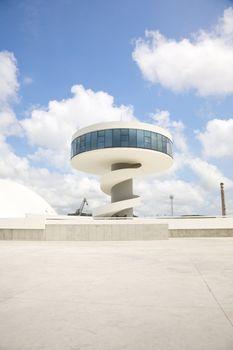 public cultural center tower