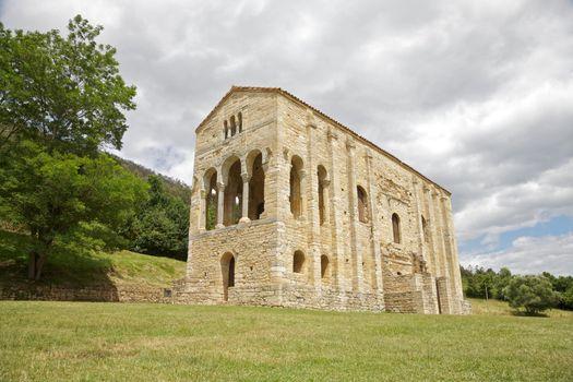 Santa Maria del Naranco facade