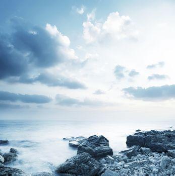 Sea in Crimea