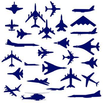 Combat aircraft.