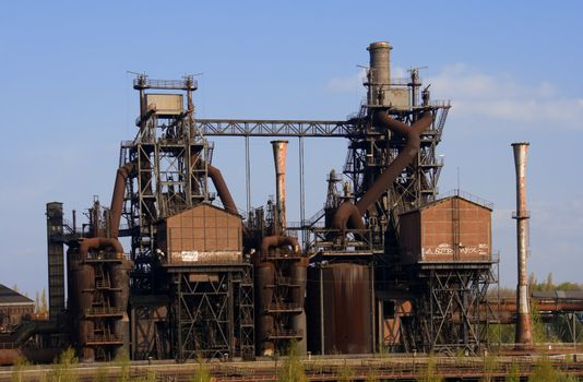 Obsolete Industrial Plant