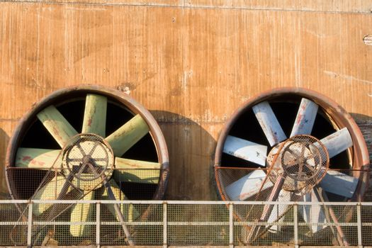 Obsolete Industrial Turbines