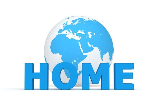 HOME in Front of he World