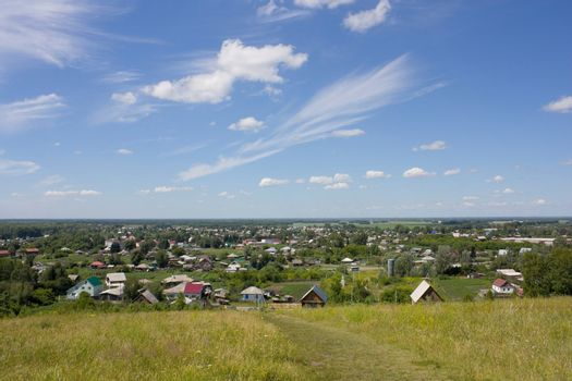 Srostki, the Altai, the birthplace of the writer Shukshin.
