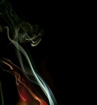ethereal smoke effect