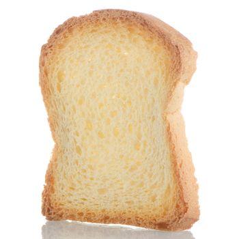 Slice of bread toasted