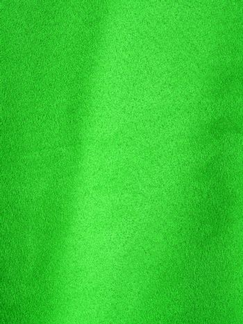 Full Frame Background of Lime Green Suede-like Fabric