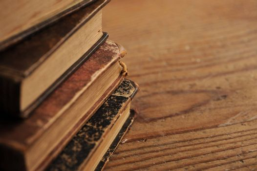 old book close up
