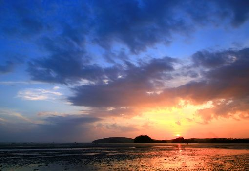 Sunset at Beach, Krabi Thailand