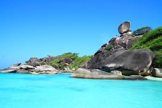 Similan National Park Andaman Sea Thailand