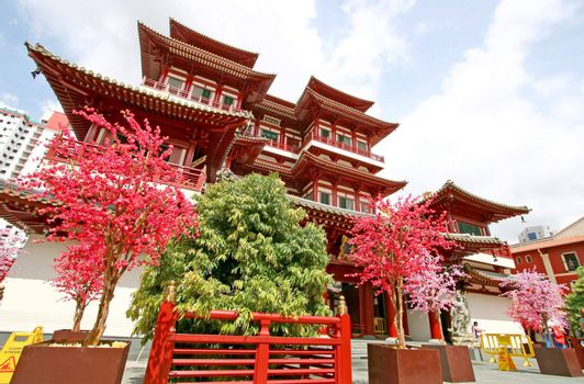 Singapore Buddha Tooth Relic Temple in China town