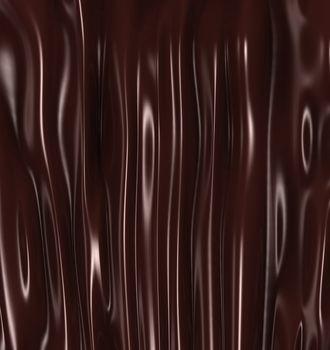 A hot liquid chocolate background