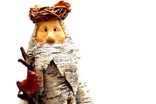 Wooden Statue of Santa Claus