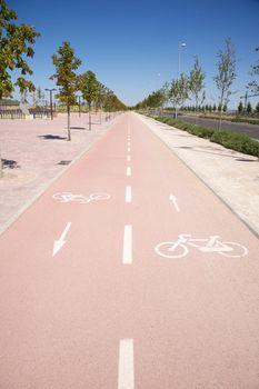 bikeway in Madrid
