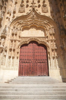 carved door of Salamanca cathedral