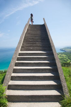 stone staircase to heaven