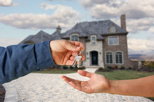 Handing Over the Keys to A Brand New Home