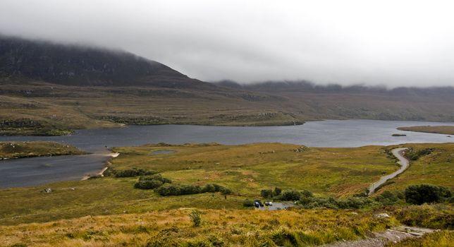 rural landscape in north scotland
