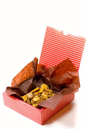 box with cookies