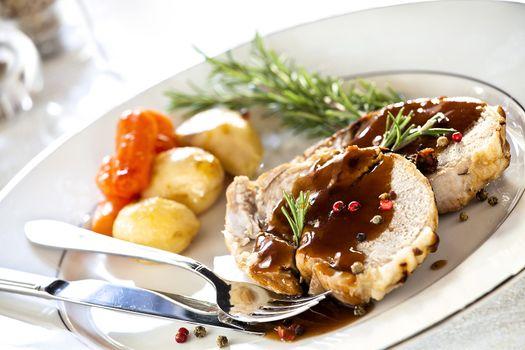 Gourmet Roasted Pork