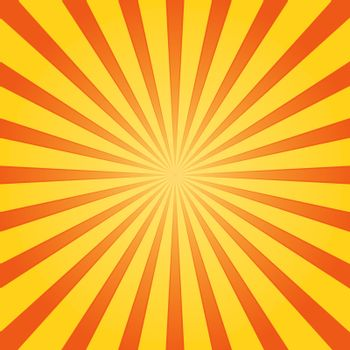 Striped Background with Orange and Yellow centered stripes