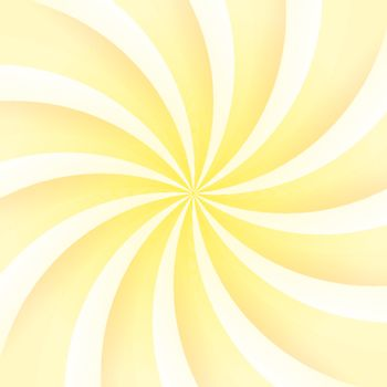 Yellow and White Abstract Background with shining swirl
