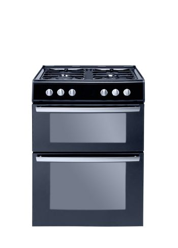 cooker over the white background