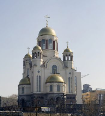 old church in the Russian Federation