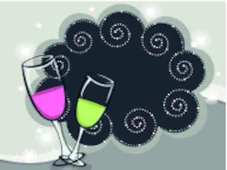 vector illustratuon for new year