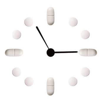medicinal hours from tablets