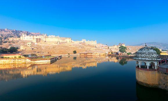 Maota Lake and Amber Fort