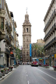 A street in Vlanecia, Spain